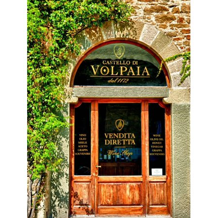 Late Summer in the Tuscan Village of Volpaia, Tuscany, Italy Print Wall Art By Richard