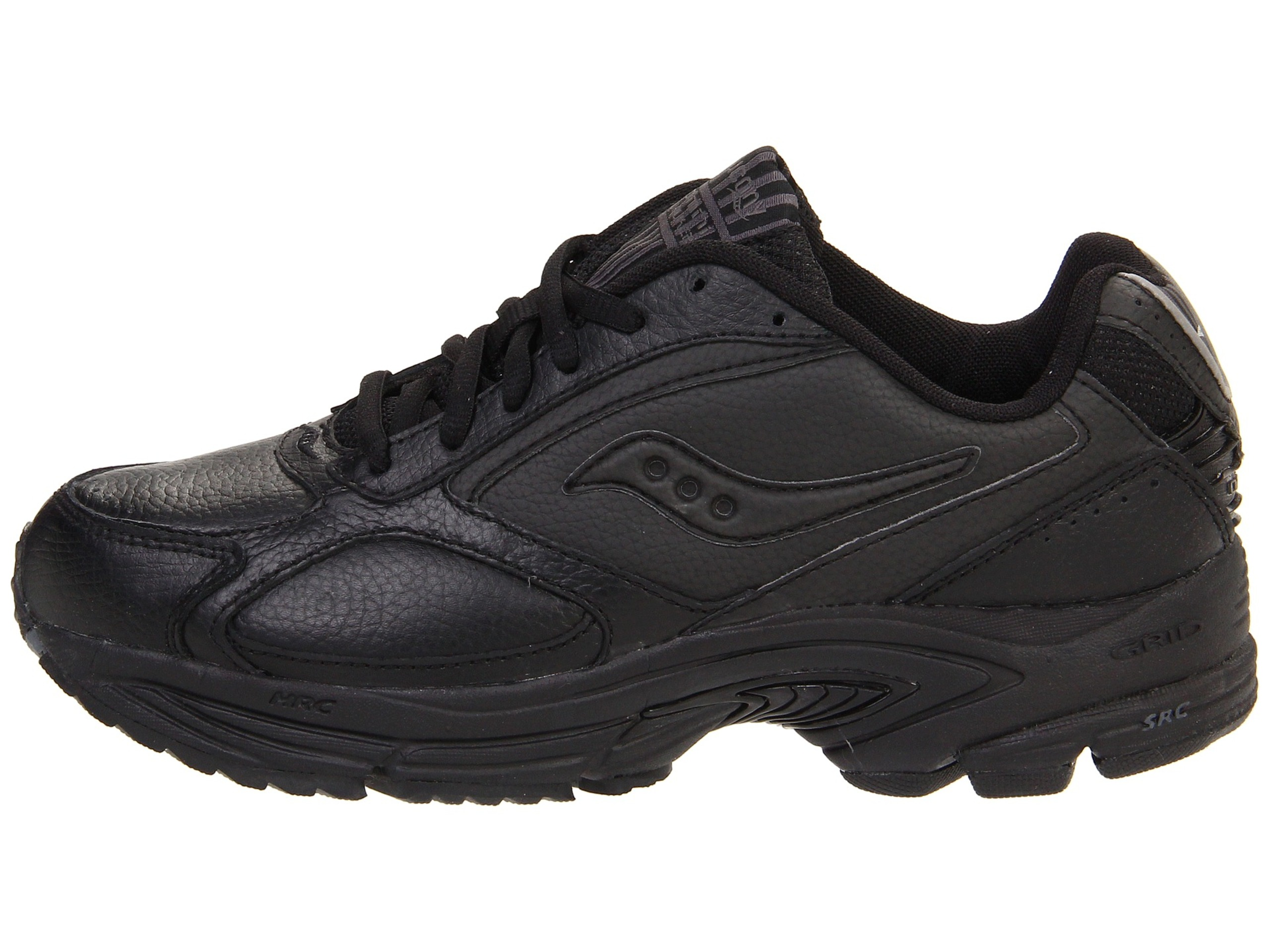 Saucony Womens Omni Walker Leather Low
