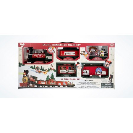 disney parks 2016 christmas train set mickey friends 30 pc new - Disney Christmas Train