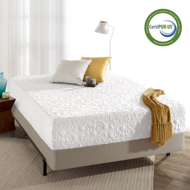 """Spa Sensations by Zinus 12"""" Theratouch Memory Foam Mattress, Queen"""