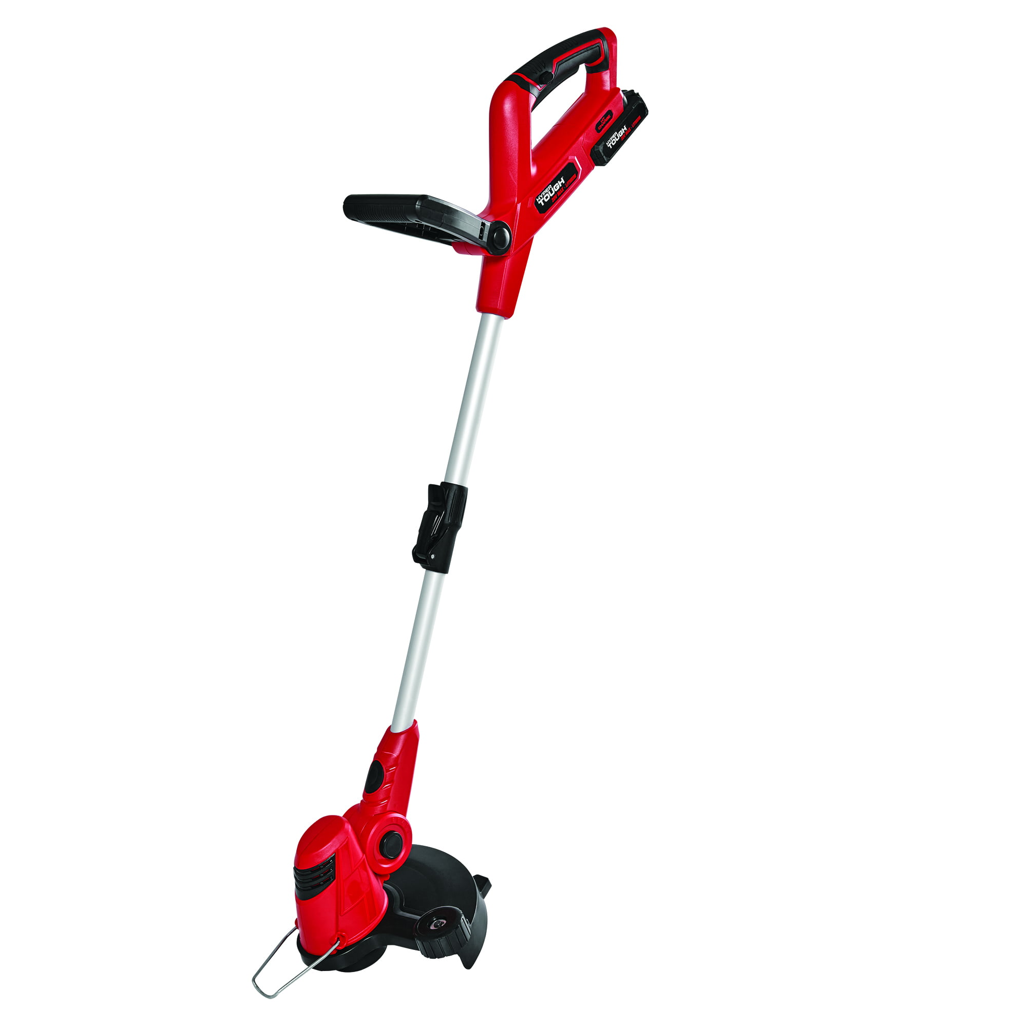 Battery Operated Weed Eater >> Hyper Tough 20v Max Cordless 12 String Trimmer Walmart Com