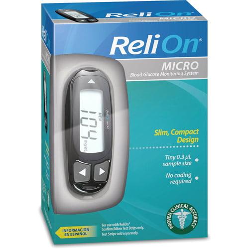 ReliOn Micro Blood Glucose Monitor