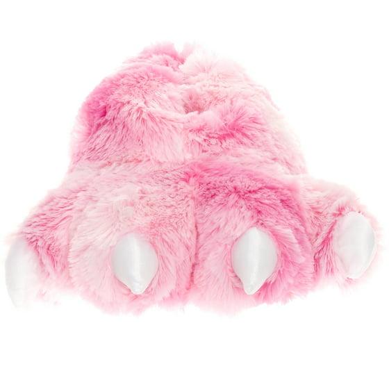 118ee011073 Wishpets - Wishpets Grizzly Pink Bear Animal Furry Fuzzy Soft Paw ...