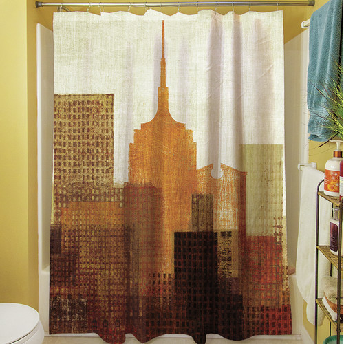 Manual Woodworkers & Weavers Summer in the City II Shower Curtain
