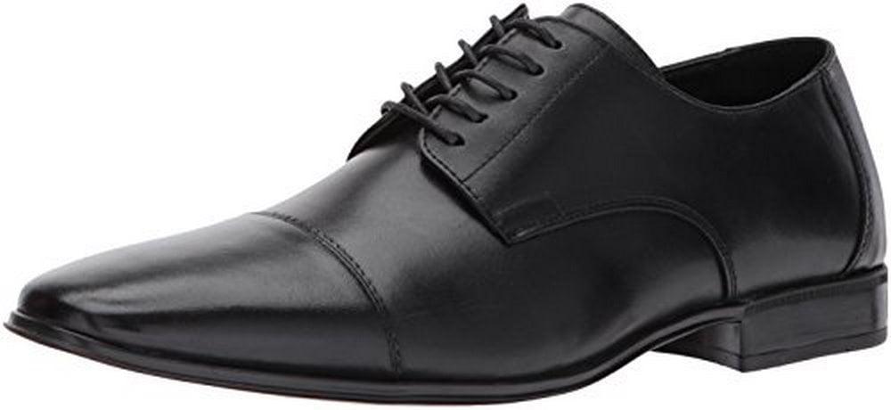 Giorgio Brutini Mens Cap Toe Oxford, Black by