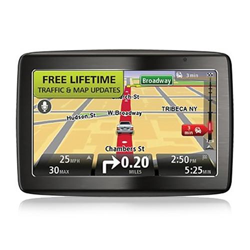 TomTom VIA 1535TM 5 Inch GPS Vehicle Navigation System w/ Lifetime Traffic & Map Updates