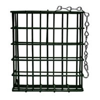 Single Metal Suet Bird Feeder Cage New