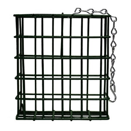 Single Metal Suet Bird Feeder Cage New ()