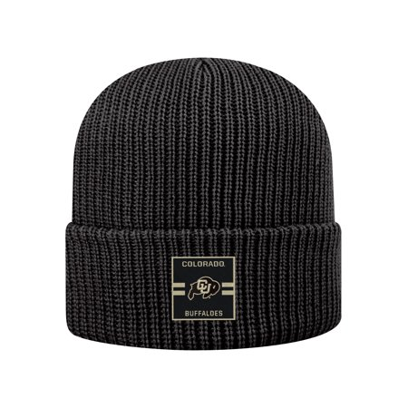 3477083b Colorado Buffaloes Official NCAA Cuffed Knit Incline Stocking Stretch Sock  Hat Cap Beanie by Top of the World 483443