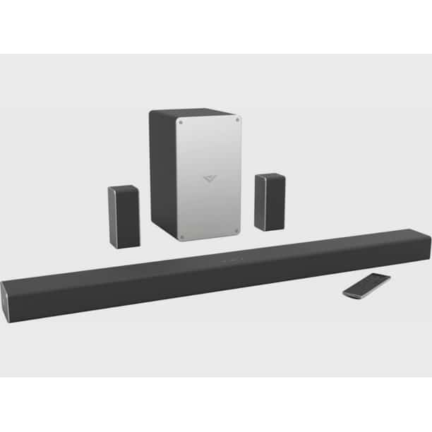 "VIZIO SB3651-E6C-RB (SB3651-E6) 36"" 5.1 Home Theater Sound Bar System with 5"" Subwoofer and Digial Amplifier (Certified Refurbished)"