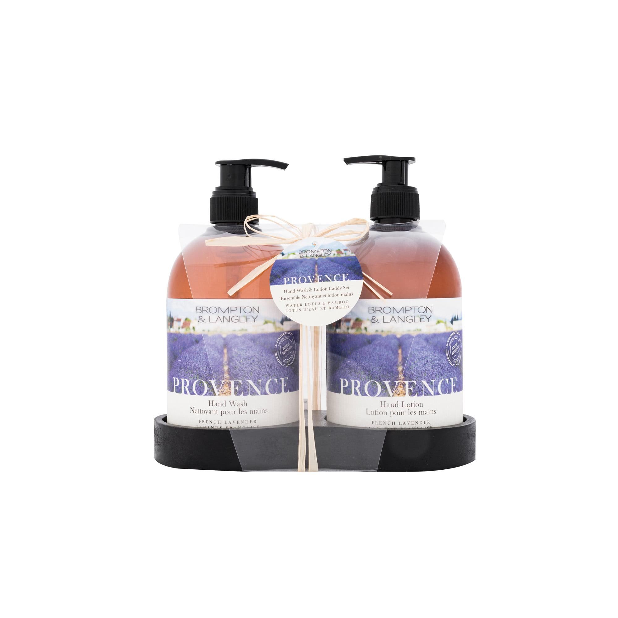 Brompton Langley Hand Cream Gift Set Lavender Vanilla Almond Milk Honeyle 3 Ct Com