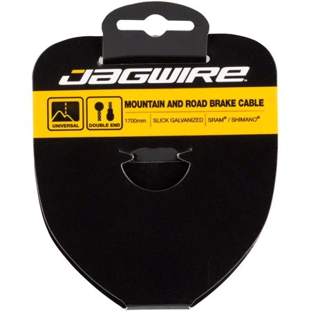 Jagwire Sport Brake Cable Slick Stainless 1.5x2750mm SRAM/Shimano Mountain/Road Tandem (Brake Straddle Cable)