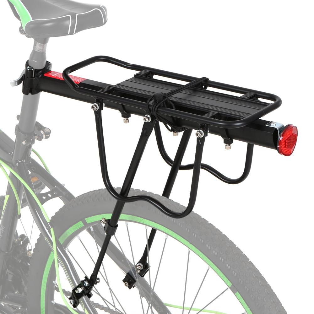 Bike Bicycle Carrier Luggage Rear Rack Mount Adjustable Pannier Cargo Rack NEW
