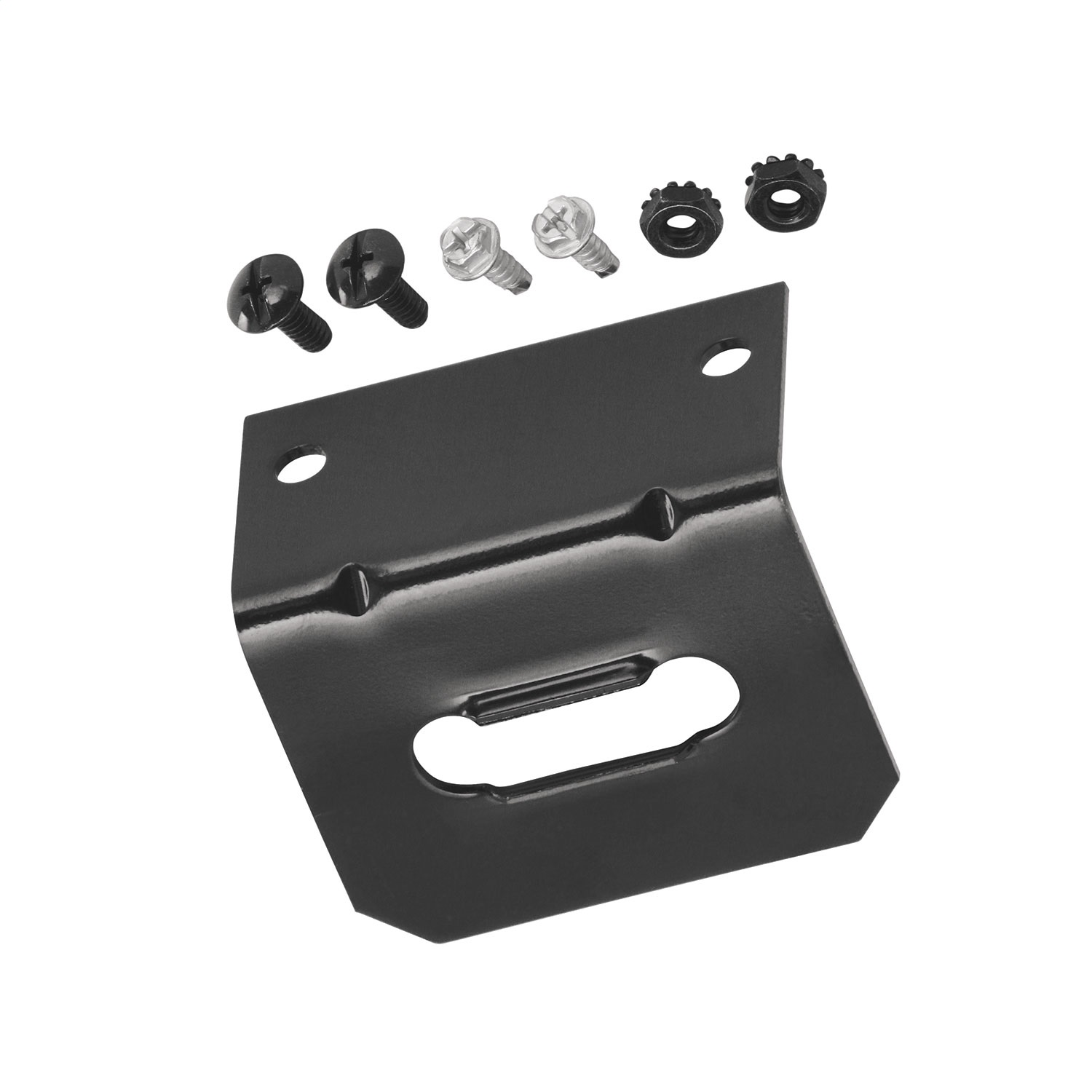 (Packaged) 4-Way Flat Mounting Bracket Replacement Auto Part, Easy to Install