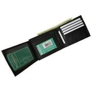 Men's premium genuine leather credit card ID bifold wallet P92