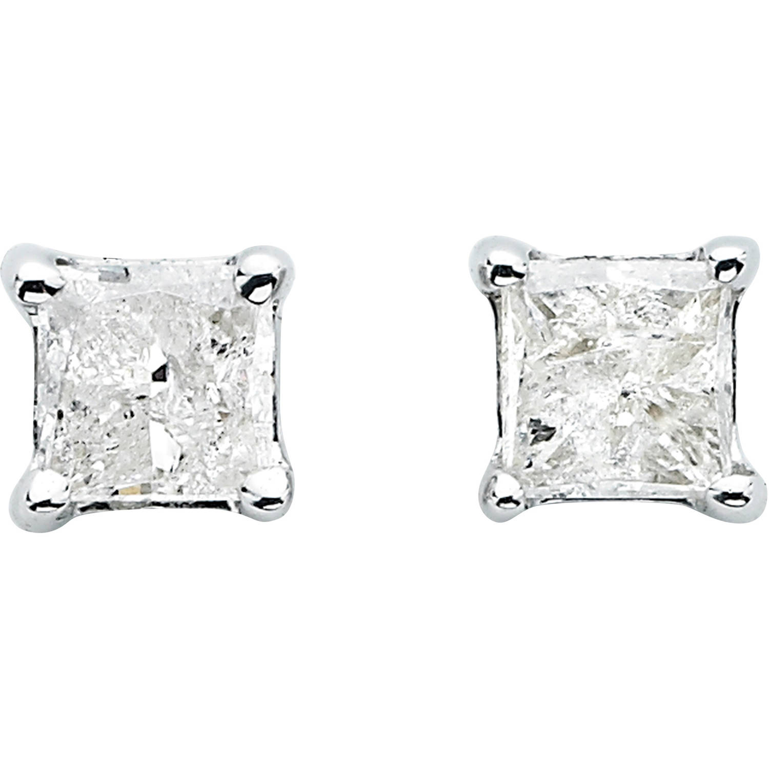 stud cluster square shape diamond products a inc earrings j