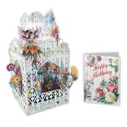 Paper d'Art Fairy Happy Birthday 3D Pop Up Greeting Card (Other)