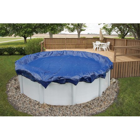 Blue Wave Gold 15 Year 33 Ft Round Above Ground Pool Winter Cover