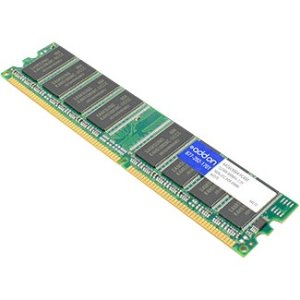 JEDEC Standard 512MB DDR-400MHz Unbuffered Dual Rank 2.5V 184-pin CL2.5 UDIMM - 100% compatible and guaranteed to work