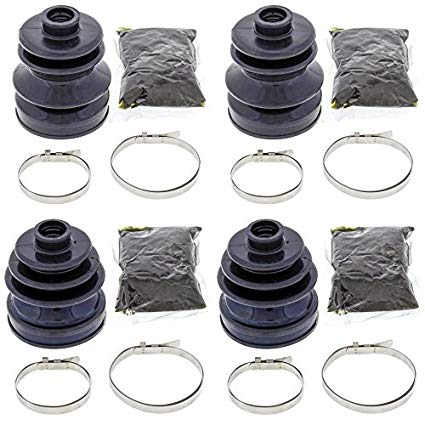 4x4 Cv Boot - Complete Front Inner & Outer CV Boot Repair Kit for Kawasaki TERYX 750 4X4 2013 All Balls