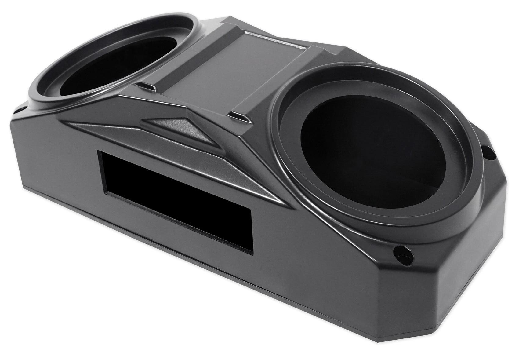 Metra OH-DIN01 6.5 Overhead Speaker+Receiver Enclosure Polaris RZR//ATV//UTV//Cart