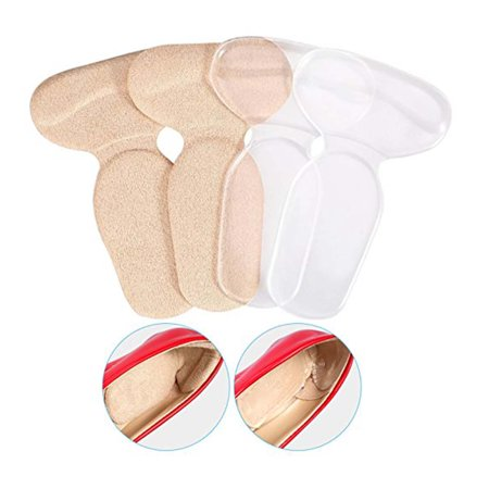 2 Pairs Of Heel Pads Grips Liners Back Heel Cushion Insoles For High Heels Blisters Shoe Gel Inserts
