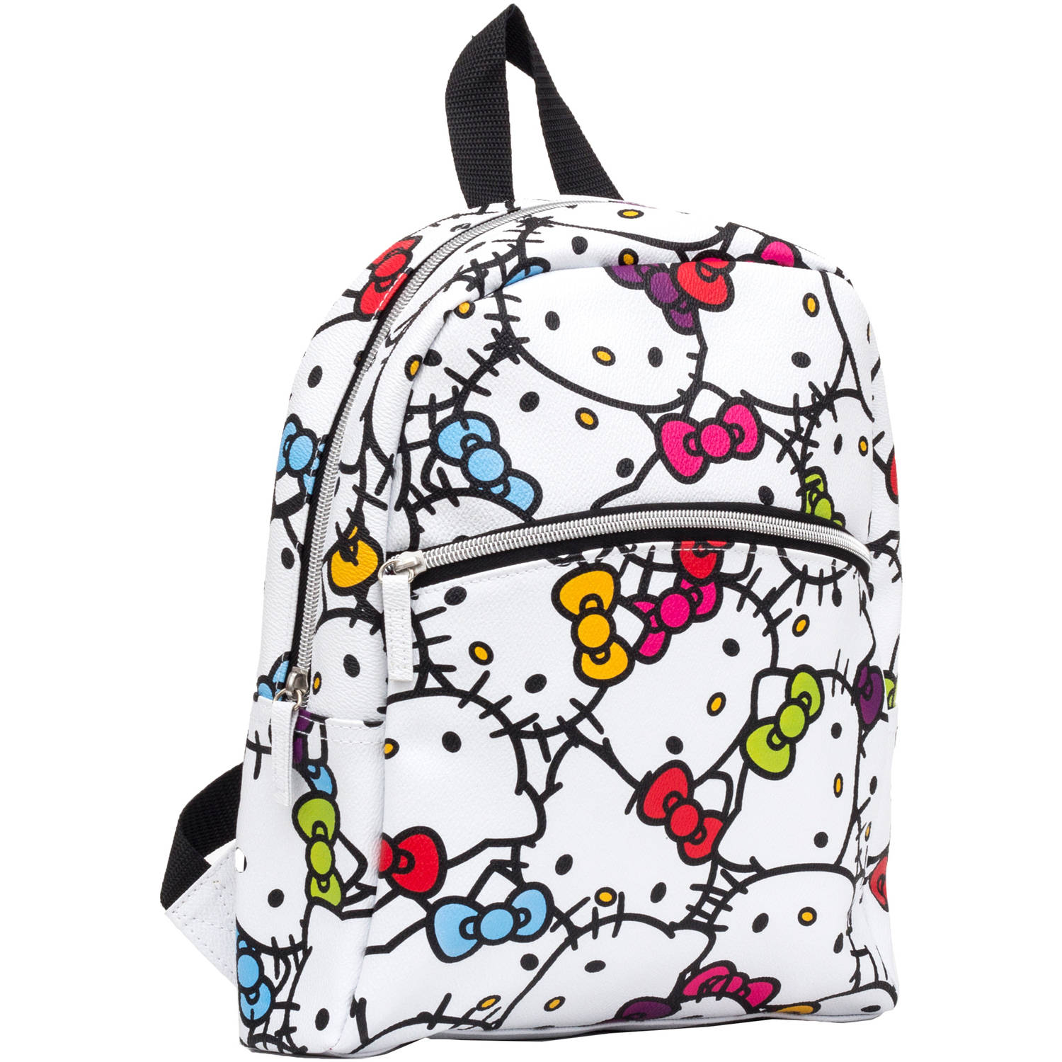 "Hello Kitty ""I Love It"" 12"" Backpack (flat front pocket)"