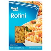 (4 pack) Great Value Rotini, 16 oz