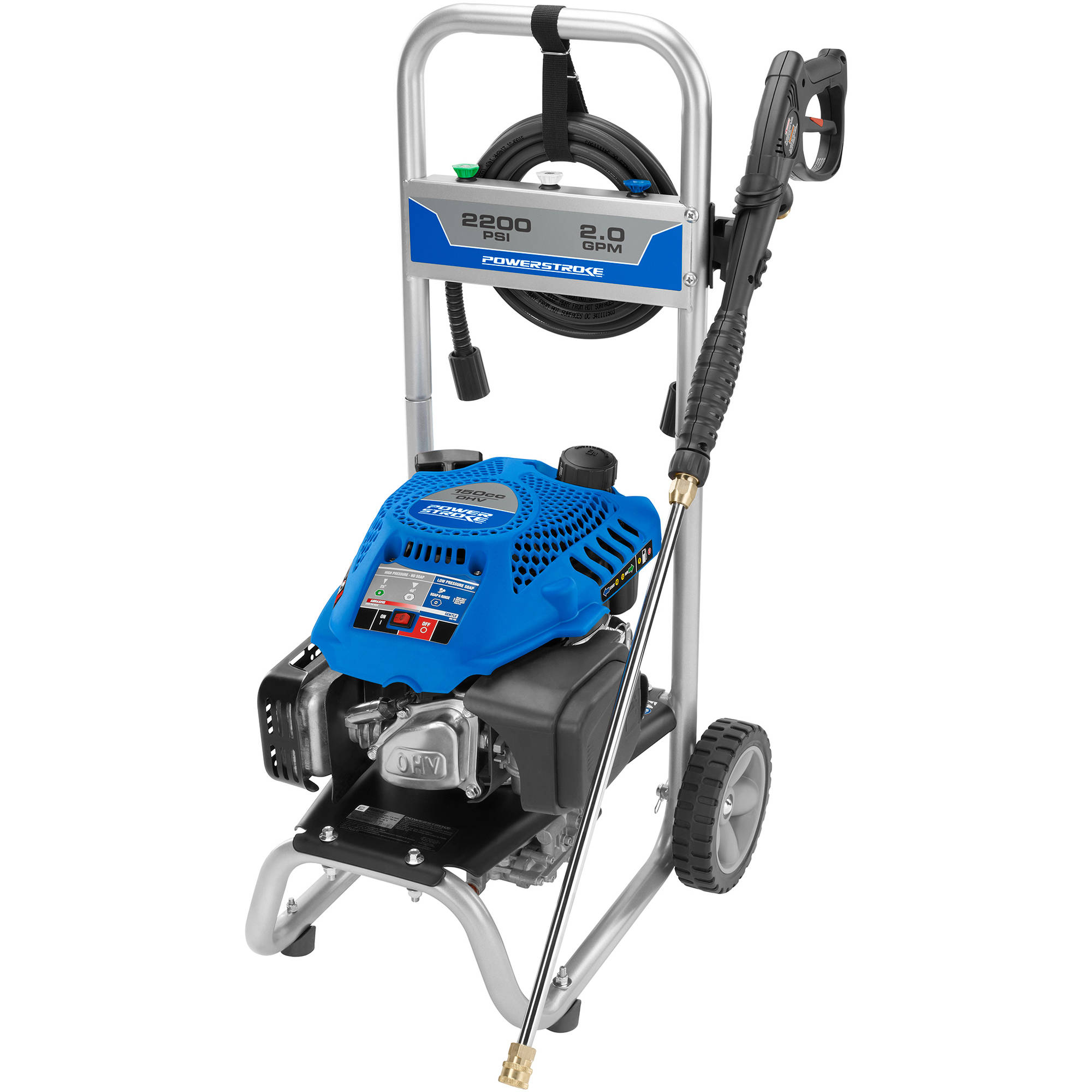 powerstroke 2200 psi gas pressure washer walmart com rh walmart com Titan 2200 PSI Pressure Washer titan 2200 pressure washer parts