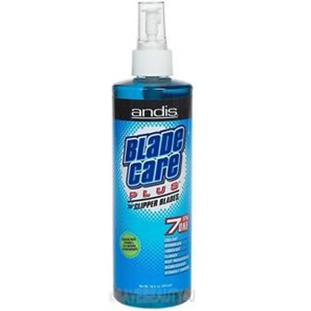 ANDIS Blade Care Plus 7-In-1 Clipper Coolant Deodorizer & Lubricant CL-12590