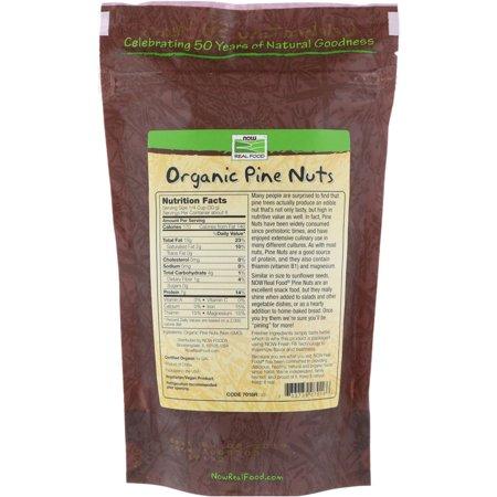 Best NOW Foods Certified Organic Pine Nuts 8 oz deal