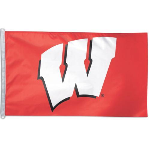 University of Wisconsin NCAA Grommet Flag Badgers Licensed 3' x 5'