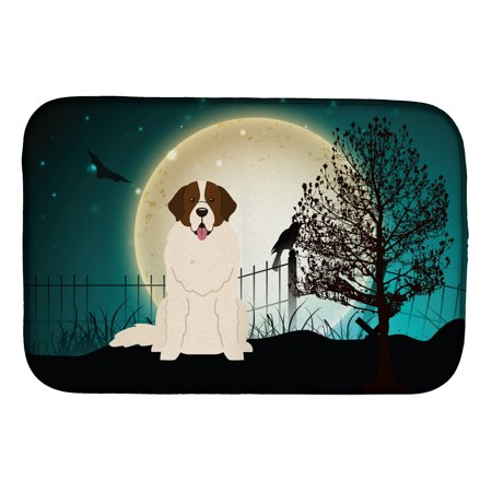 Halloween Scary Moscow Watchdog Dish Drying Mat