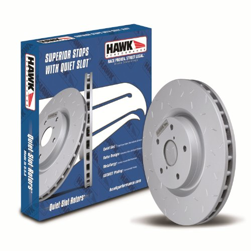 Hawk Performance HUS8258 Quiet Slot Brake Rotor