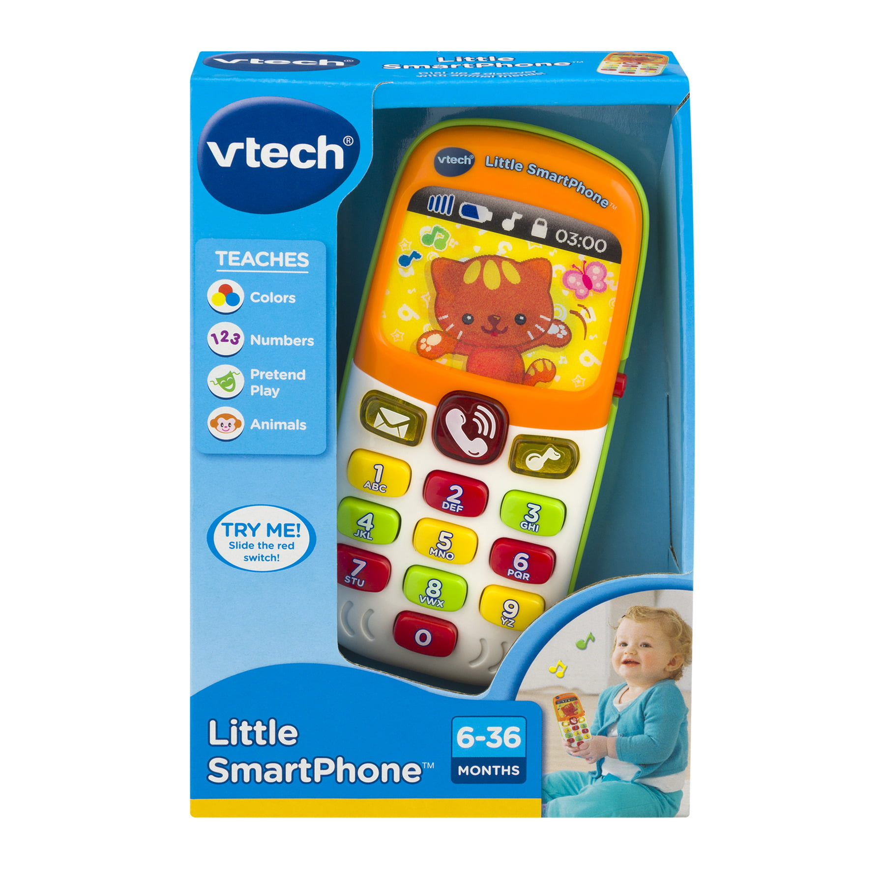 VTech Little Smart Phone, 1.0 CT by VTech