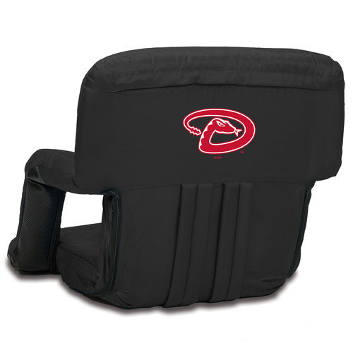 Arizona Diamondbacks Ventura Portable Seat - Black - No Size