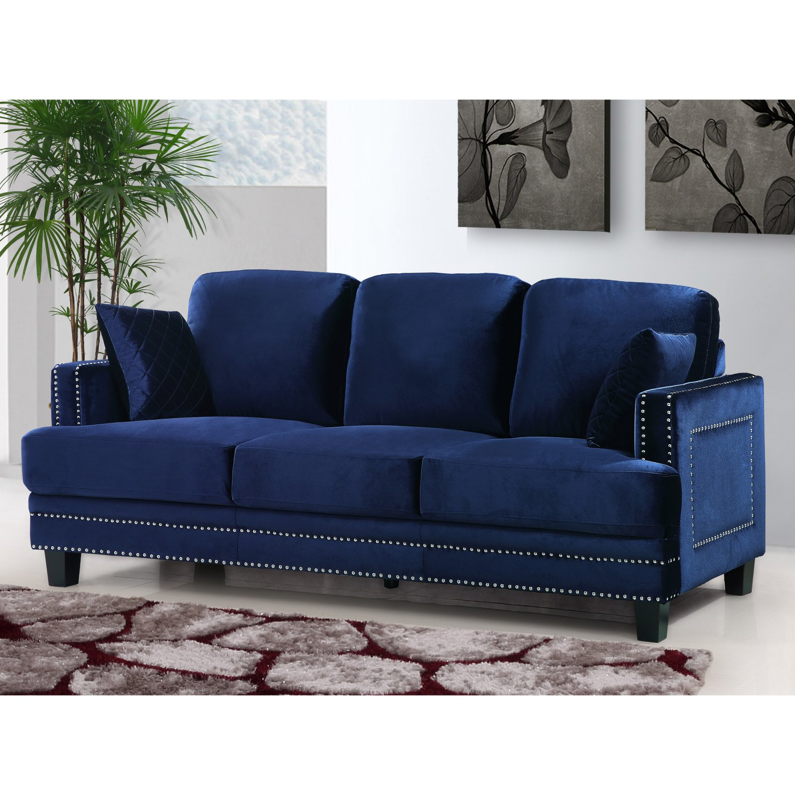 Meridian Furniture Inc Ferrara Sofa
