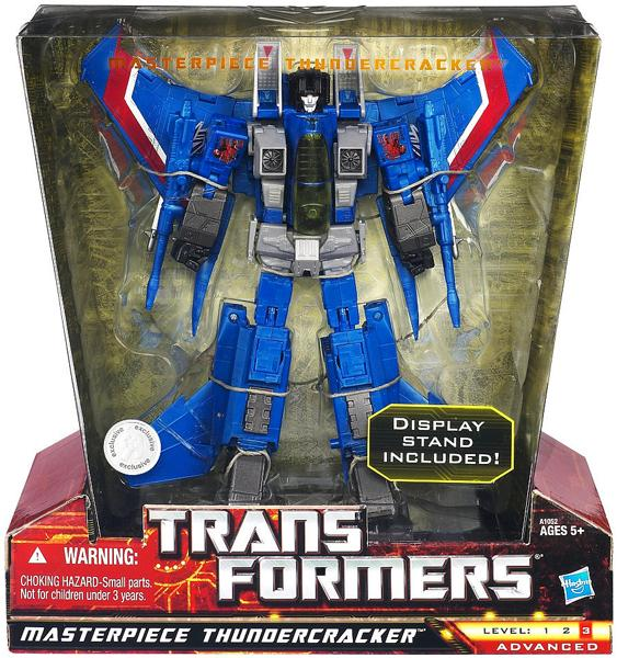Hasbro Transformers Universe Masterpiece Thundercracker A...