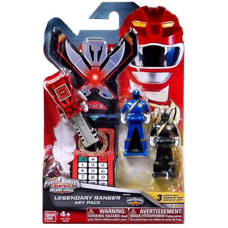 Power Rangers Super Megaforce Legendary Ranger Key Pack [Wild Force] - Robo Knight Megaforce