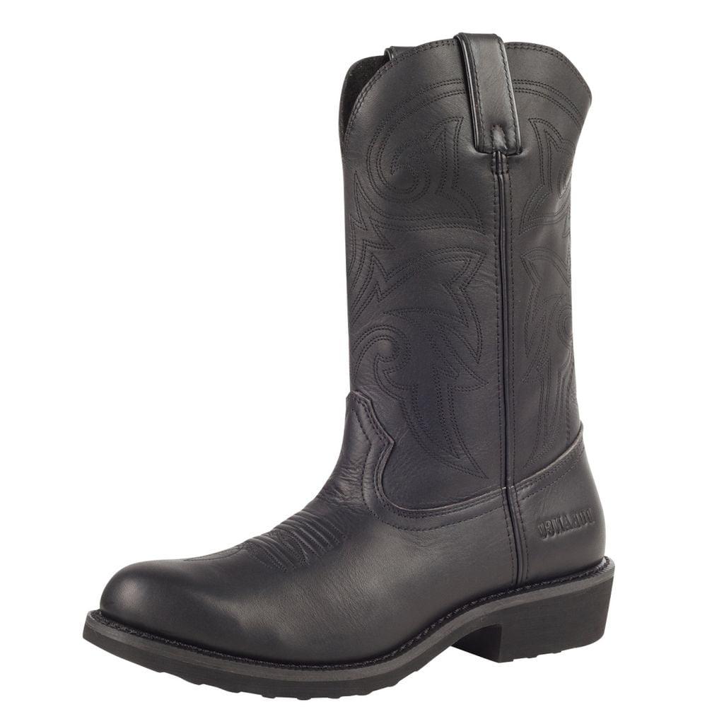 durango work boots mens 12 quot farm ranch leather wellington