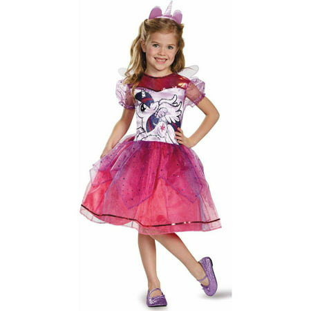 My Little Pony Twilight Sparkle Deluxe Child Halloween Costume (Cute Big Brother Little Sister Halloween Costumes)