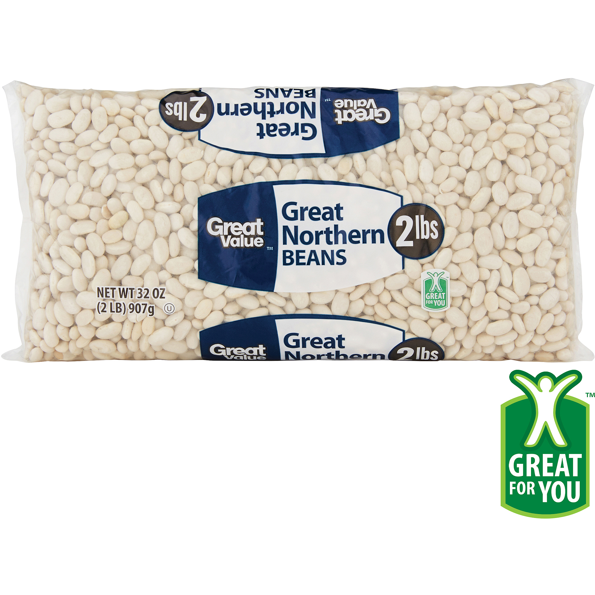 Great Value: Great Northern Beans, 32 Oz