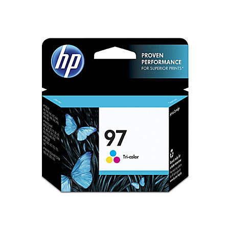 HP 97, (C9363WN) Tri-color Original Ink Cartridge by HP