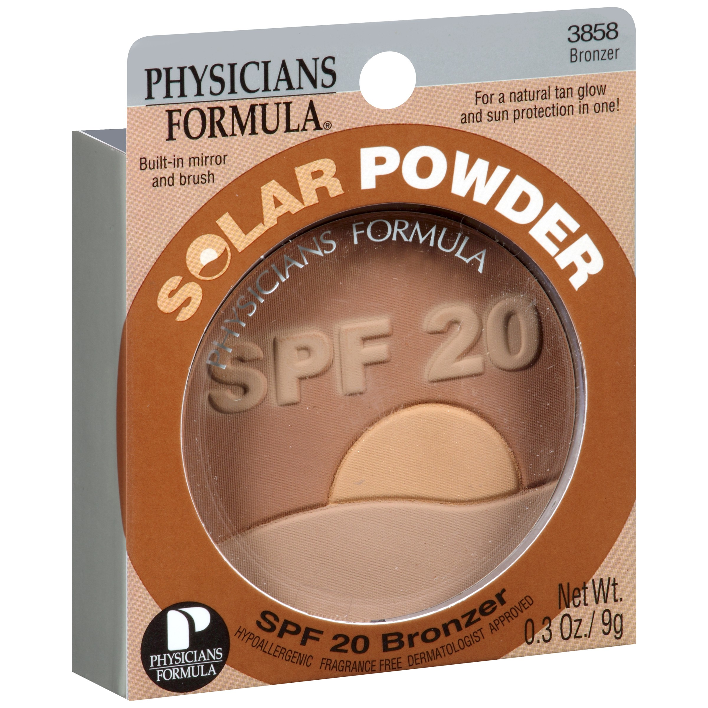 Physicians Formula Solar Powder Bronzer SPF 20 0.3 oz