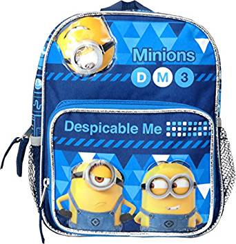 """Oops! Despicable Me 2 Minion School Small 12/"""" inches Backpack"""