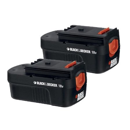 Black and Decker HPB18 Replacement (2 Pack) 18V Battery # HPB18-2PK