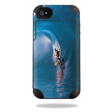 Mightyskins Protective Vinyl Skin Decal Cover for Mophie Juice Pack Plus iPhone 4 / 4S External Battery Case wrap sticker skins Surfer ()