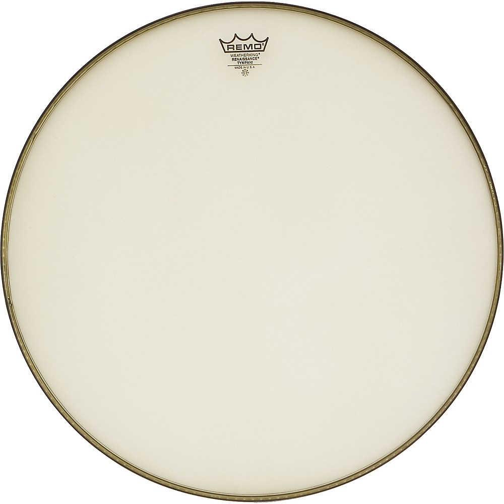 Remo Renaissance Hazy Timpani Drumheads 23 in., Steel Insert Ring