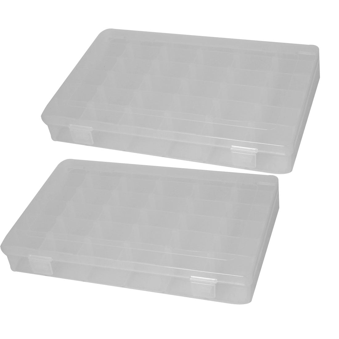 Click here to buy Plastic Case 36 Compartments Fishing Lure Bait Storage Angling Tackle Box 2PCS.