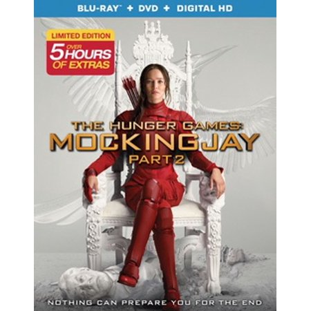 The Hunger Games: Mockingjay Part 2 (2 Blu-ray + - Hunger Games Girl On Fire